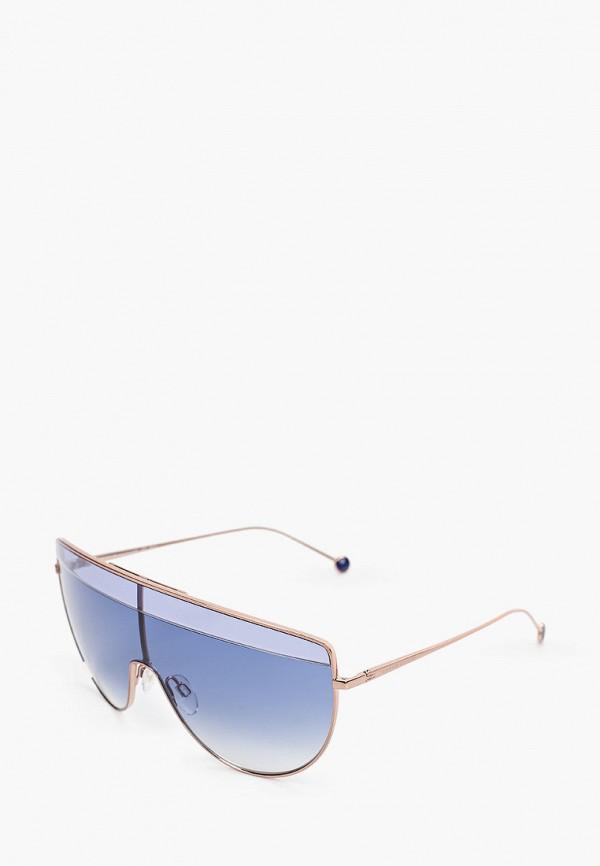 Очки солнцезащитные Tommy Hilfiger золотого цвета