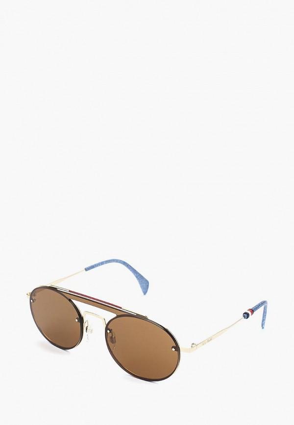 Купить Очки солнцезащитные Tommy Hilfiger, TH GIGI HADID3 J5G, TO263DWZCH29, коричневый, Весна-лето 2019