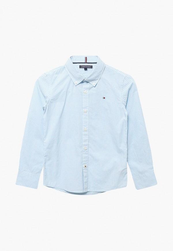 Рубашка Tommy Hilfiger Tommy Hilfiger TO263EBAVOV6 рубашка tommy hilfiger mw0mw00476 902 medieval blue bluejay