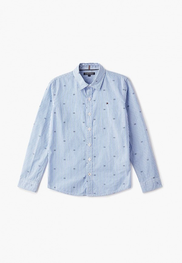 Рубашка Tommy Hilfiger Tommy Hilfiger TO263EBCCBV0 рубашка tommy hilfiger mw0mw00476 902 medieval blue bluejay