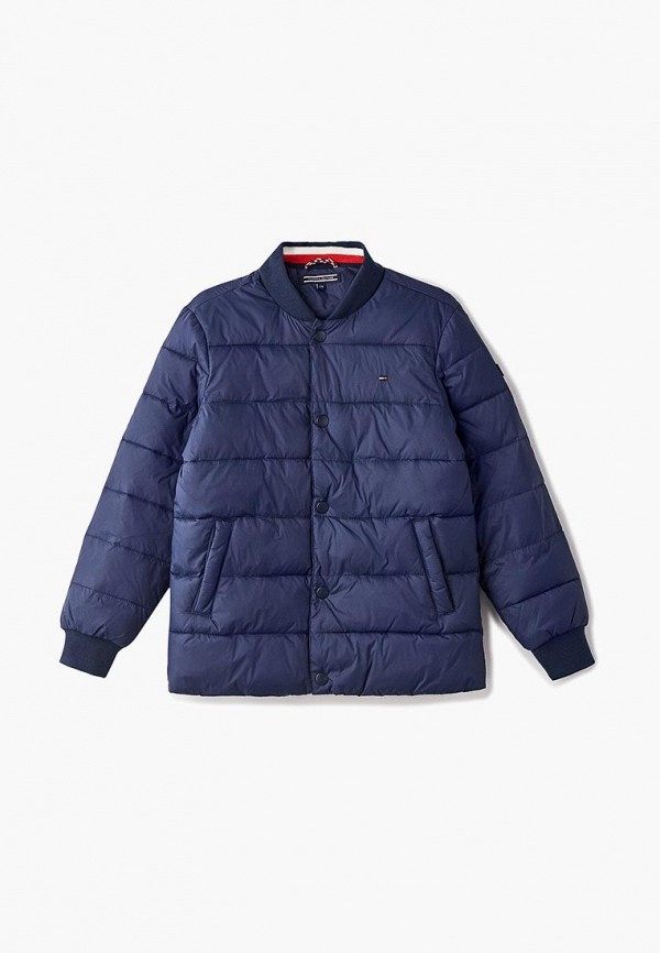 Куртка утепленная Tommy Hilfiger Tommy Hilfiger TO263EBCCBV7 поло tommy hilfiger tommy hilfiger to263embhpz3