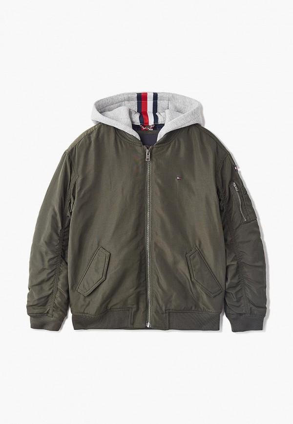 Куртка утепленная Tommy Hilfiger Tommy Hilfiger TO263EBDSAE3 цены онлайн