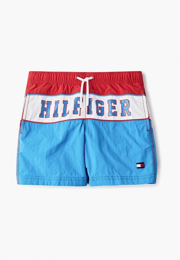 Купить Шорты для плавания Tommy Hilfiger, to263ebepye1, синий, Весна-лето 2019