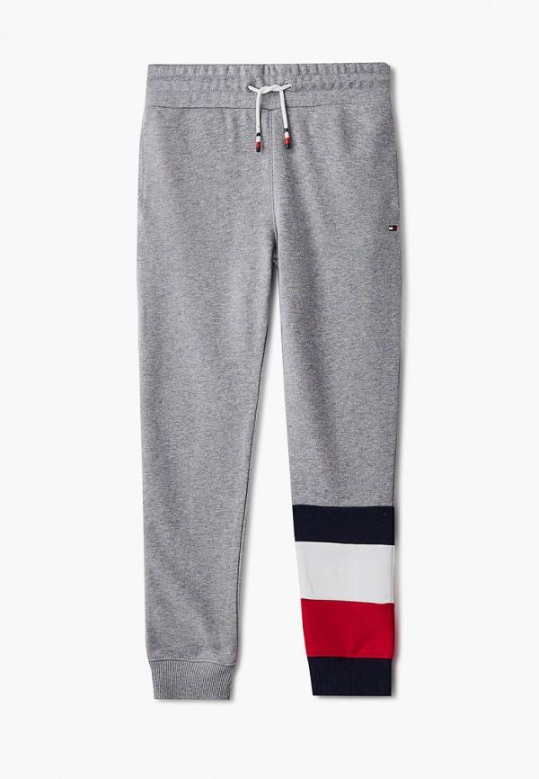 спортивные брюки tommy hilfiger для мальчика, серые