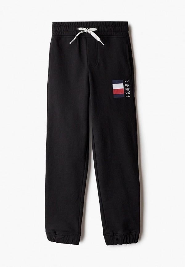 спортивные брюки tommy hilfiger для мальчика, черные