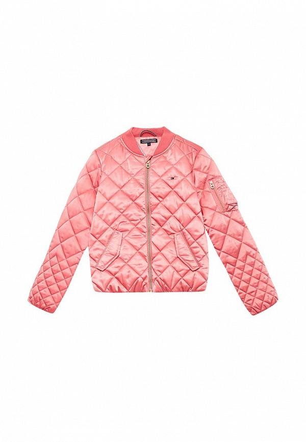 Купить Куртка утепленная Tommy Hilfiger, TO263EGACLG1, розовый, Весна-лето 2018