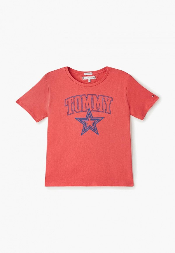 Футболка Tommy Hilfiger Tommy Hilfiger TO263EGDSAH1 футболка tommy hilfiger denim tommy hilfiger denim to013ewprh21