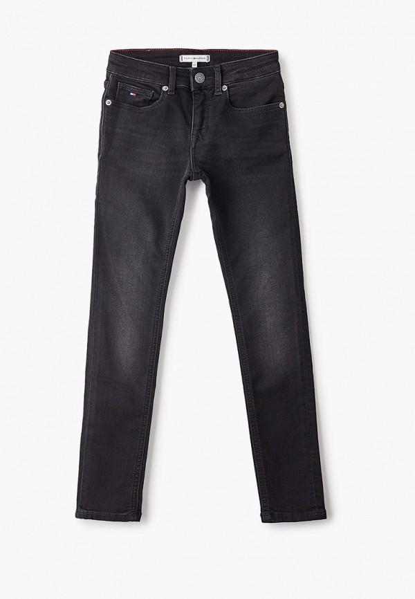 джинсы tommy hilfiger для девочки, черные