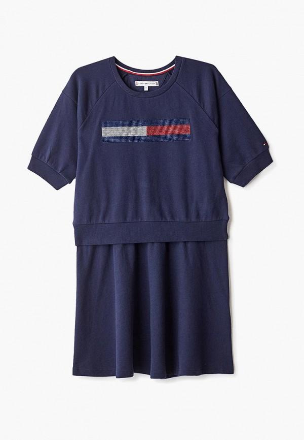 Платье Tommy Hilfiger Tommy Hilfiger TO263EGFTPR8 платье tommy hilfiger tommy hilfiger to263ewzfv45