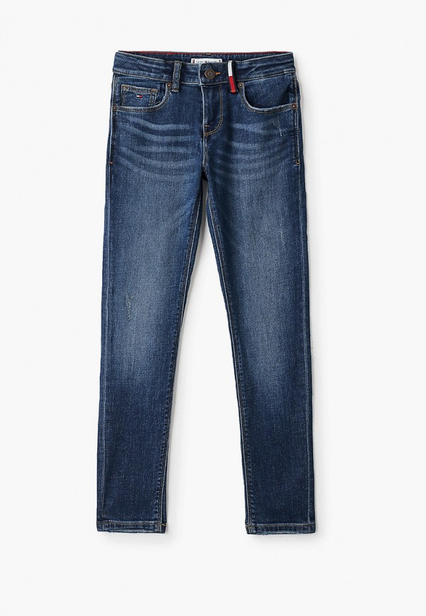джинсы tommy hilfiger для девочки, синие