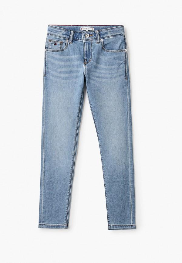 джинсы tommy hilfiger для девочки, голубые