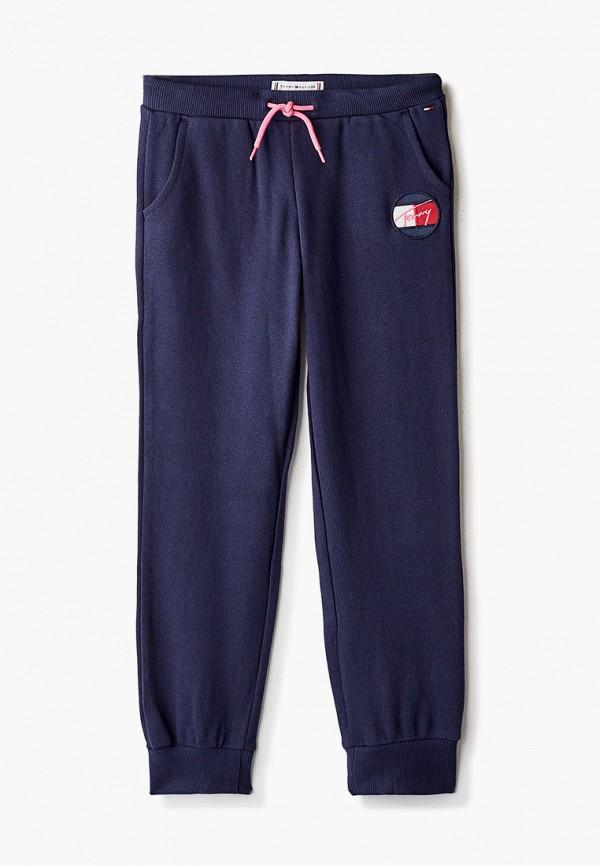 брюки tommy hilfiger для девочки, синие