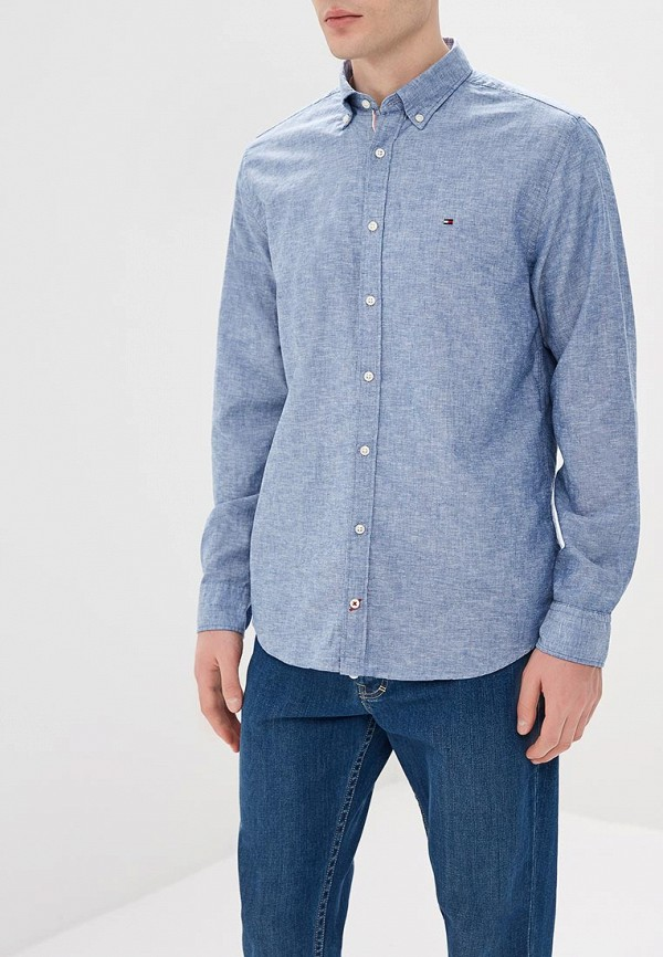 Рубашка Tommy Hilfiger Tommy Hilfiger TO263EMAGUF7 рубашка tommy hilfiger mw0mw00476 902 medieval blue bluejay