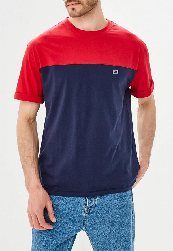 Купить Мужскую футболку Tommy Hilfiger синего цвета