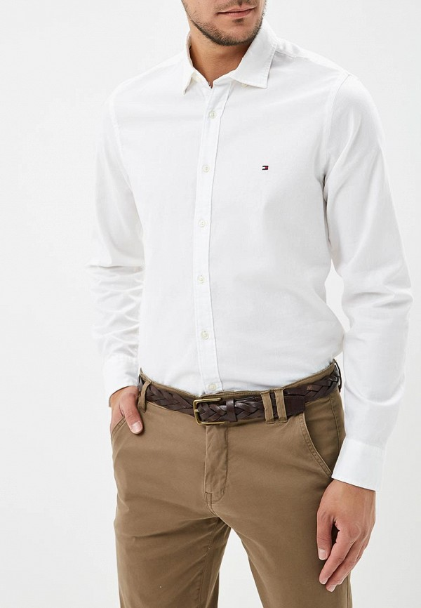 Рубашка Tommy Hilfiger Tommy Hilfiger TO263EMBHPY5 рубашка tommy hilfiger ww0ww17809 901 riviera classic white