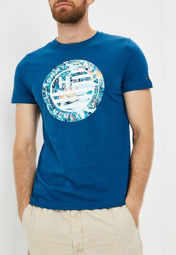 Футболка Tommy Hilfiger Tommy Hilfiger TO263EMBHQA1 футболка tommy hilfiger ww0ww21965 100 classic white