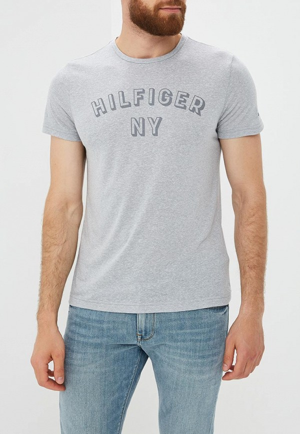 Футболка Tommy Hilfiger Tommy Hilfiger TO263EMBHQG7 футболка tommy hilfiger ww0ww21965 100 classic white