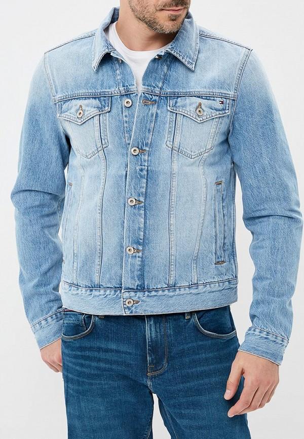 Куртка джинсовая Tommy Hilfiger Tommy Hilfiger TO263EMBHQG9 поло tommy hilfiger tommy hilfiger to263embhpz3