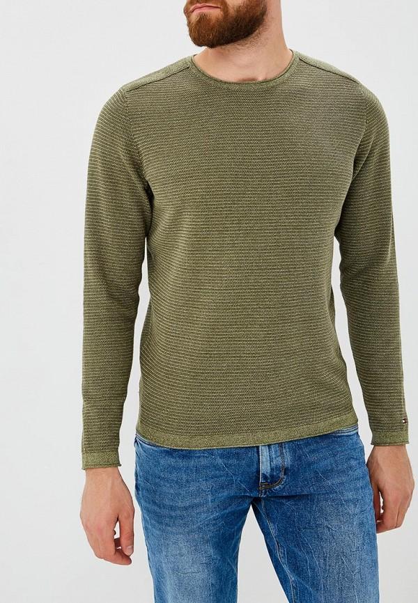 Купить Джемпер Tommy Hilfiger, TO263EMBHQH1, зеленый, Осень-зима 2018/2019
