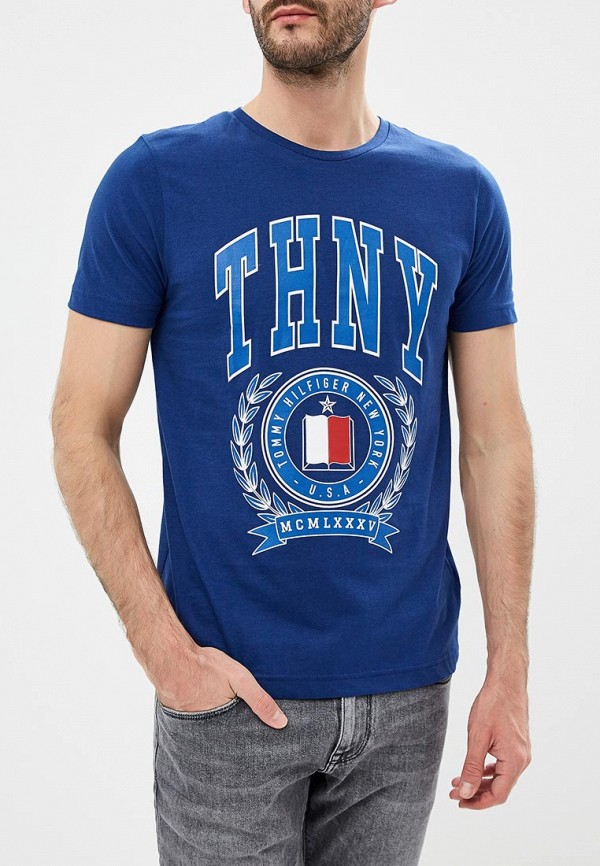 купить Футболка Tommy Hilfiger Tommy Hilfiger TO263EMBWFK5 по цене 4990 рублей