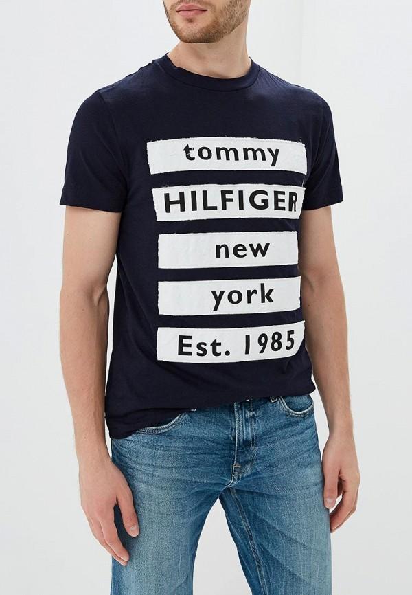 где купить Футболка Tommy Hilfiger Tommy Hilfiger TO263EMBWFK9 по лучшей цене