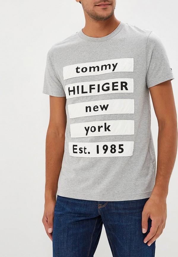 Футболка Tommy Hilfiger Tommy Hilfiger TO263EMBWFL0 футболка tommy hilfiger tommy hilfiger to263ewbick9