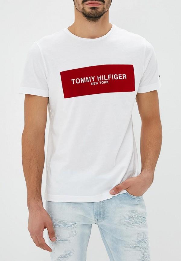 Футболка Tommy Hilfiger Tommy Hilfiger TO263EMBWFL2 портмоне tommy hilfiger am0am00655 002 black