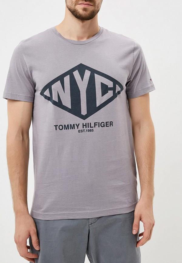 Футболка Tommy Hilfiger Tommy Hilfiger TO263EMBWFL7 футболка tommy hilfiger