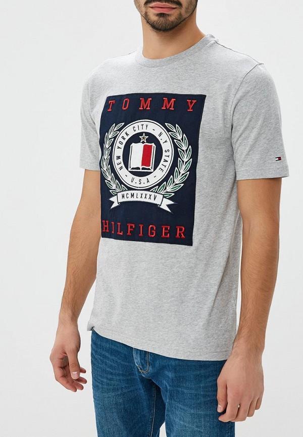 Футболка Tommy Hilfiger Tommy Hilfiger TO263EMBWFL9 поло tommy hilfiger tommy hilfiger to263embhpz3