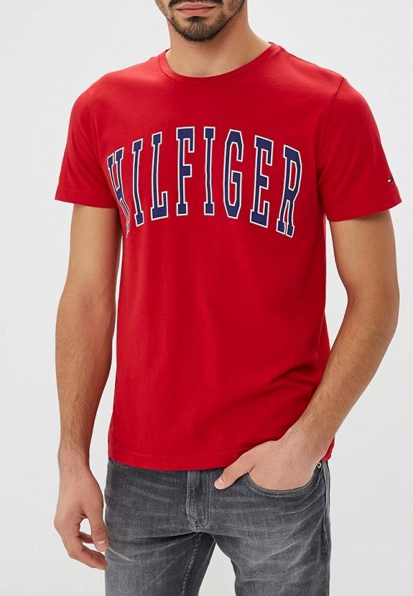 Футболка Tommy Hilfiger Tommy Hilfiger TO263EMBWFM7 футболка tommy hilfiger ww0ww19542 039 light grey htr