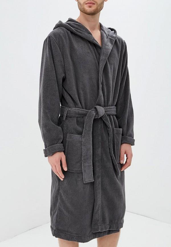 мужской халат tommy hilfiger, серый