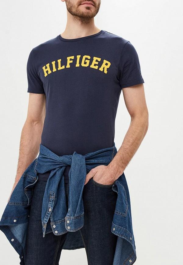 Футболка Tommy Hilfiger Tommy Hilfiger TO263EMBWFU0 футболка tommy hilfiger mw0mw05243 501 cloud htr