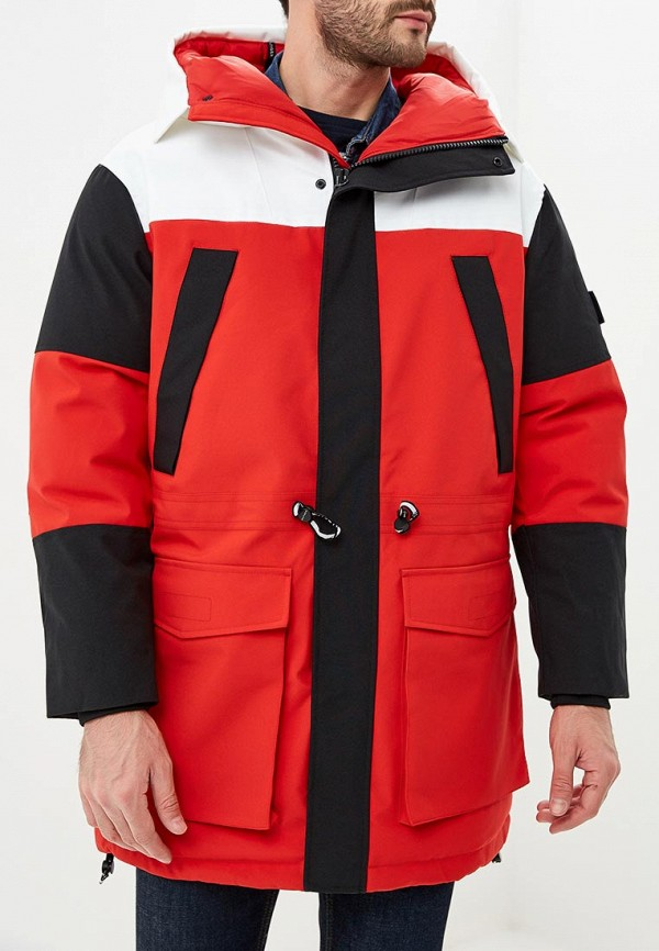 Купить Куртка утепленная Tommy Hilfiger, to263emddur2, красный, Весна-лето 2019