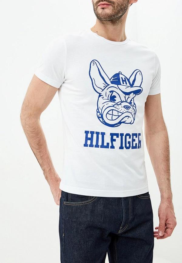 Футболка Tommy Hilfiger Tommy Hilfiger TO263EMDDUX5 футболка tommy hilfiger tommy hilfiger to263ewbick9