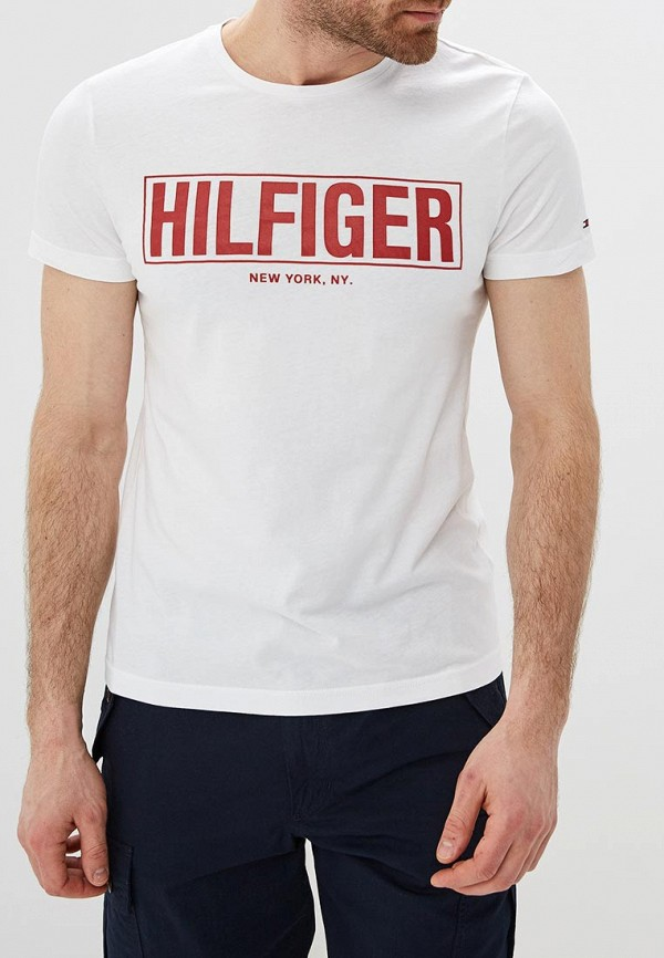 Футболка Tommy Hilfiger Tommy Hilfiger TO263EMEBQF6 портмоне tommy hilfiger tommy hilfiger to263bmkbp72