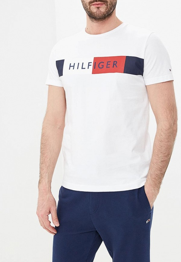 Футболка Tommy Hilfiger Tommy Hilfiger TO263EMEBQG1 футболка hilfiger