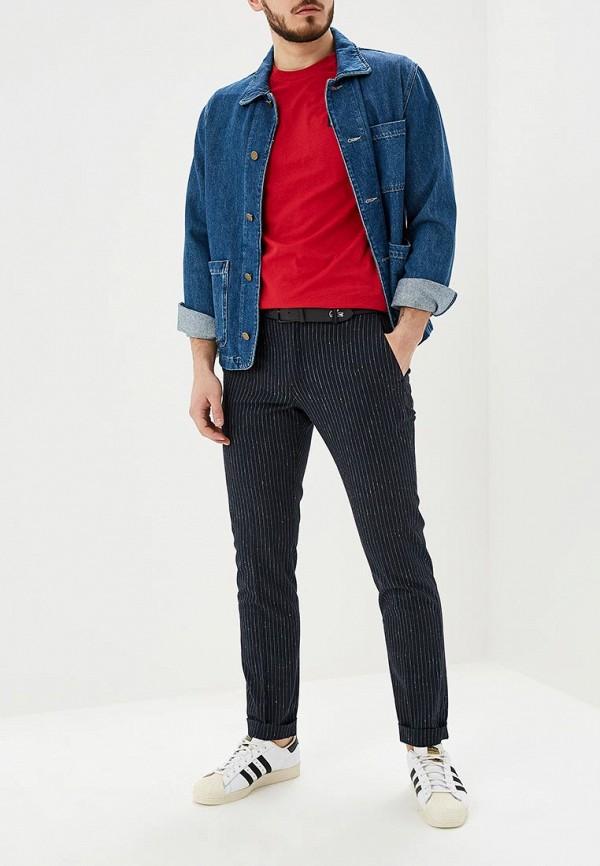 Фото 2 - мужскую футболку Tommy Hilfiger красного цвета