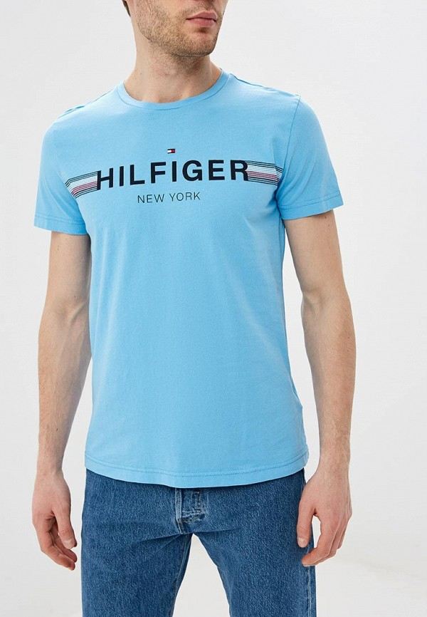 Футболка Tommy Hilfiger Tommy Hilfiger TO263EMEBQZ0 поло tommy hilfiger tommy hilfiger to263embhpz3