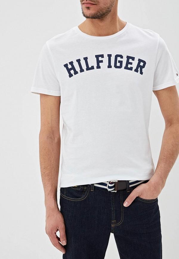 Футболка Tommy Hilfiger Tommy Hilfiger TO263EMEBRA0 футболка tommy hilfiger mw0mw05243 501 cloud htr