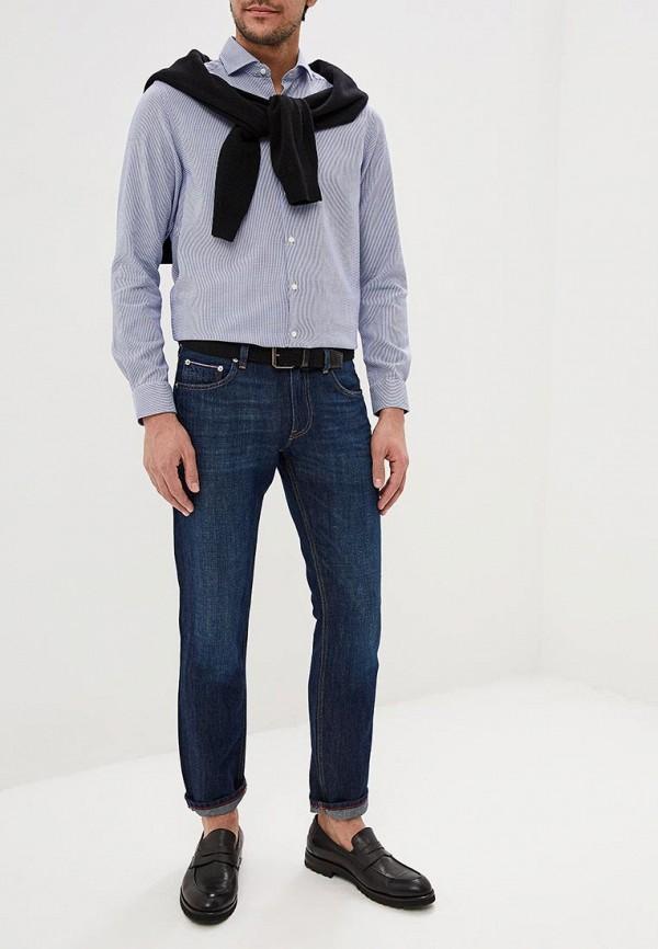 Фото 2 - мужские джинсы Tommy Hilfiger синего цвета