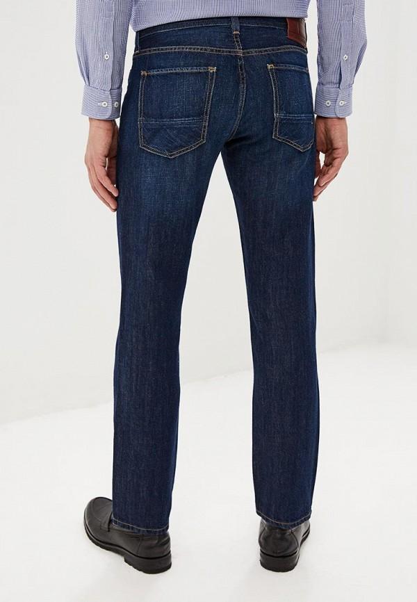 Фото 3 - мужские джинсы Tommy Hilfiger синего цвета