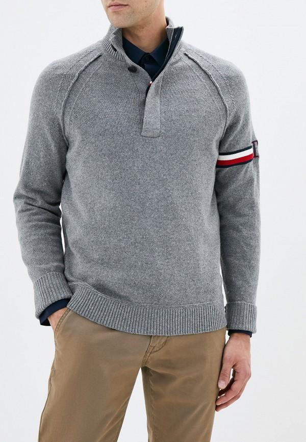 Свитер Tommy Hilfiger Tommy Hilfiger TO263EMFVWF0 свитер tommy hilfiger ww0ww14812 901 light grey htr anchor