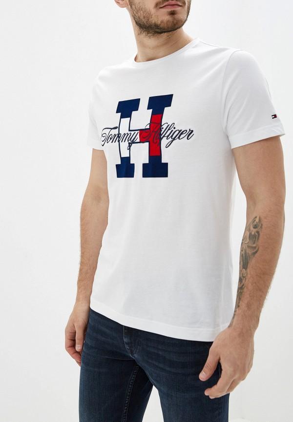 Футболка Tommy Hilfiger Tommy Hilfiger TO263EMFVWG4 цена