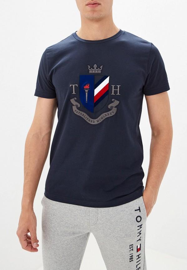 купить Футболка Tommy Hilfiger Tommy Hilfiger TO263EMFVWG7 дешево
