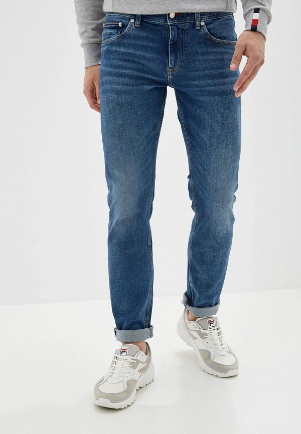 мужские джинсы tommy hilfiger, синие
