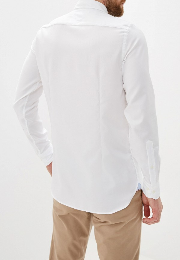 Фото 3 - Мужскую рубашку Tommy Hilfiger белого цвета