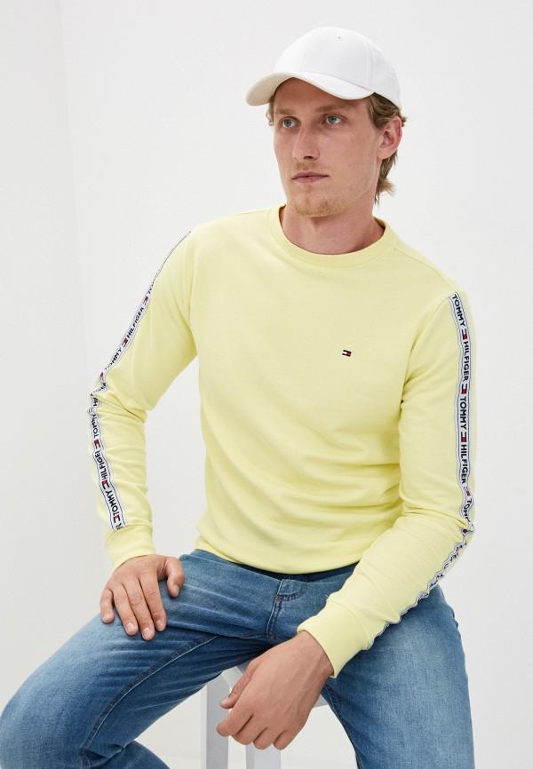мужской свитшот tommy hilfiger, разноцветный