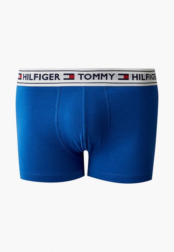 мужские трусы-боксеры tommy hilfiger, синие
