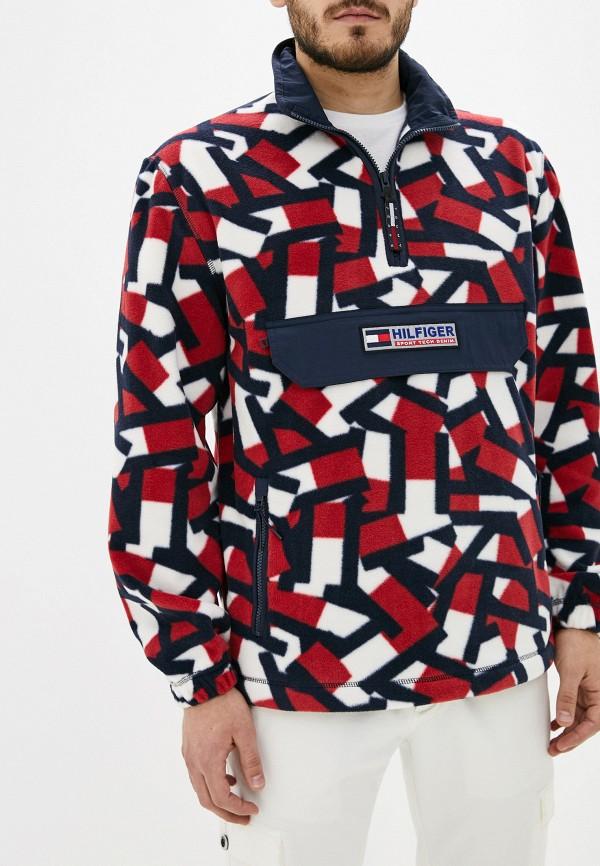 мужская куртка tommy hilfiger, разноцветная