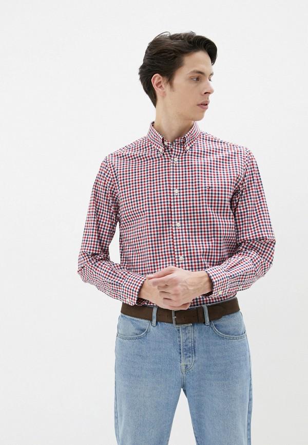мужская рубашка с длинным рукавом tommy hilfiger, разноцветная
